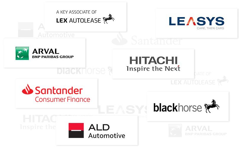 A graphic of our partnership finance companies