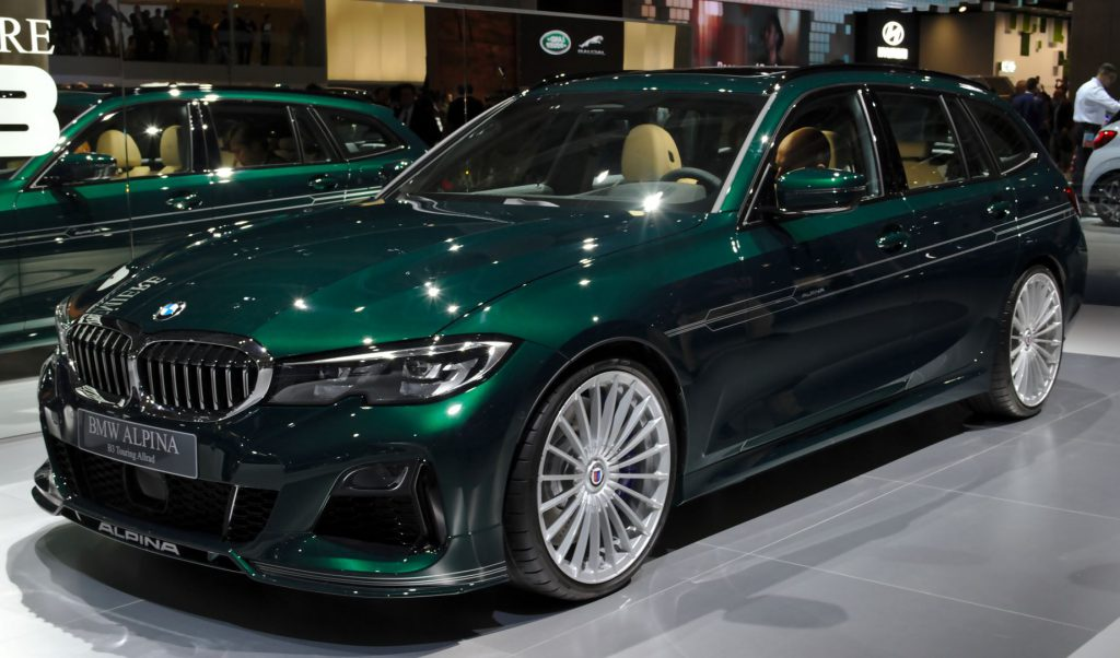 Alpina B3 Touring in green