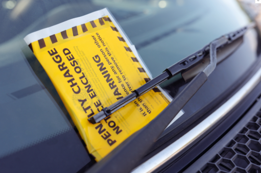 parking ticket notice